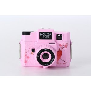 ホルガ【HOLGA】フィルムカメラ H-120N 日本限定デザイン ピンク|saedaonline