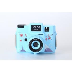 ホルガ【HOLGA】フィルムカメラ H-120N 日本限定デザイン ライトブルー|saedaonline