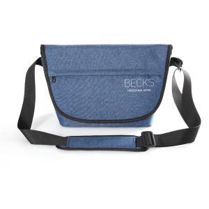 BECKS(ベックス) ショルダーバッグ SCB-003 ネイビー|saedaonline