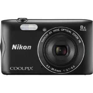ニコン(Nikon) デジタルカメラ COOLPIX A300 (クールピクスA300) ブラック