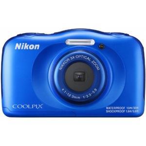 ニコン(Nikon) デジタルカメラ COOLPIX W100 ブルー