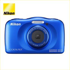 ニコン(Nikon) デジタルカメラ COOLPIX W150(クールピクス W150) ブルー