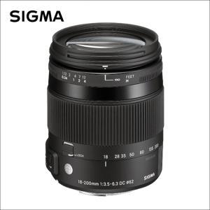 シグマ(Sigma)  18-200mm F3.5-6.3 DC MACRO OS HSM    C...