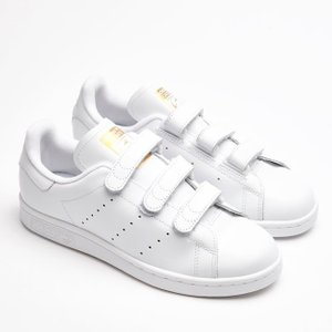 adidas【アディダス】 Stan Smith CF レディース&メンズ スタンスミス ベルクロ ...