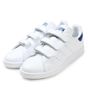 adidas【アディダス】Stan Smith CF レディース/メンズ スタンスミス ベルクロ コンフォート  【S80042】 ホワイト/ブルー