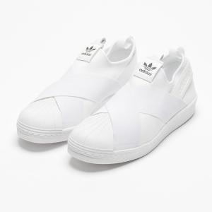 国内正規品♪ adidas【アディダス】オリジナルス スーパースタースリッポン SUPERSTAR SLIP ON W 【S81338】 ホワイト