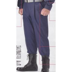 難燃防災服ズボン(男性用) (消防/操法/消防団)  SH|safety-japan