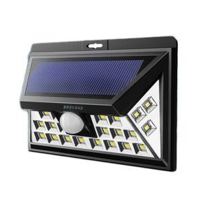 防災グッズ ライト 改良版 peaceup 46LED センサーライト safety-japan