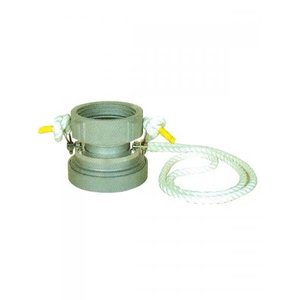 吸管の先に吸管離脱器を取り付けておくと、ロープを引張るだけで簡単に吸管を地下式消火栓から取り外せます...