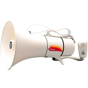 拡声器 ノボル電機 ショルダー型メガホン TM-208 13W ホイッスル音付 noboru ノボル ハンドマイク|safety-japan