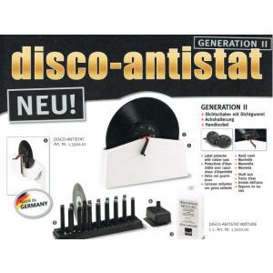 KNOSTI disco-antistat GENERATION II (ノスティ 洗浄式 レコードクリーナーセット) 洗浄ボトル1本ボーナス|sagamiaudio-co|02