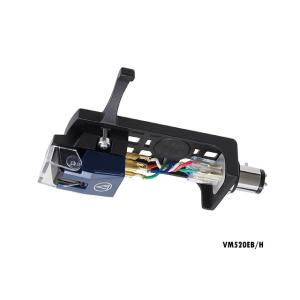 audio-technica VM520EB/H (オーディオテクニカ VM型ステレオカートリッジ・ヘッドシェル付き) vm520ebh sagamiaudio-co