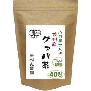 グァバ茶 有機栽培 ティーパック 3.0g×40包 健康茶さがん農園