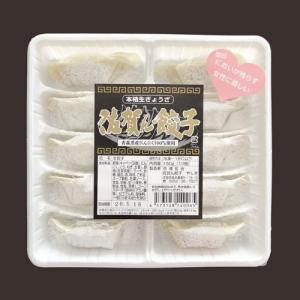 手づくり本格生ぎょうざ 佐賀ん餃子 にんにく入り 10個入り(冷凍・粉付き) sagangyoza