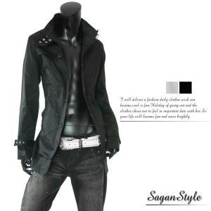 トレンチコート メンズ ショート シングル 大きいサイズトレンチ コート メンズ ショート シングル 白|saganstyle