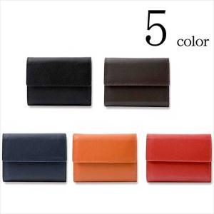 ◆説明:牛革三つ折りミニ財布。 上質な牛革を使用したシンプルデザイン。 コンパクトな見た目ながら実用...
