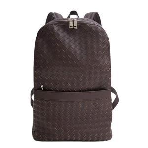 編み込みバックパック メンズバッグ ユニセックス かばん 鞄 カジュアル 大人仕様 リュックサック デイパック イントレチャート メッシュ ビジネスリュック|saganstyle|11
