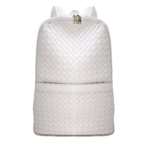 編み込みバックパック メンズバッグ ユニセックス かばん 鞄 カジュアル 大人仕様 リュックサック デイパック イントレチャート メッシュ ビジネスリュック|saganstyle|13
