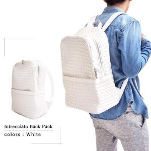 編み込みバックパック メンズバッグ ユニセックス かばん 鞄 カジュアル 大人仕様 リュックサック デイパック イントレチャート メッシュ ビジネスリュック|saganstyle|14