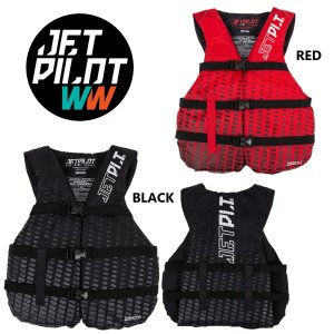 4月中旬発送 ジェットパイロット JETPILOT 2021 ライフジャケット JCI認定 送料無料 スロットル 3-バックル CGA ナイロン ベスト JA21127CGA 水上バイク sagara-net-marine