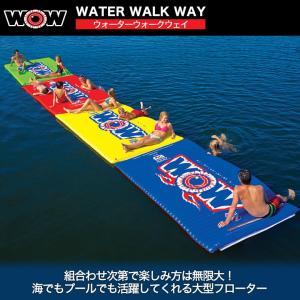 ワオ WOW ウォータートーイ トーイングチューブ 15%オフ 送料無料 ウォーターウォークウェイ 6×10F W12-2030 水上バイク 水上バイク ジェット|sagara-net-marine