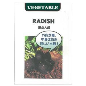 表皮が黒、中身は白、直径10cm丸形の珍しい大根です!少し辛味がありますが、煮込み料理や炒め物に最適...