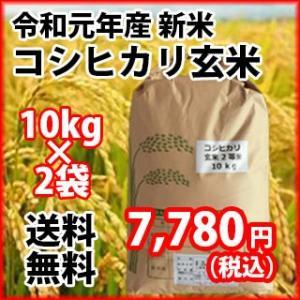 契約農家さんが心を込めて作った極上のコシヒカリ玄米が今年も出ました!  ご家族でご賞味ください! 1...