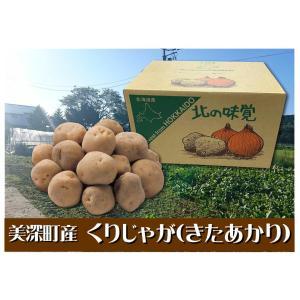 D-8 美深町産: 杉田さんちのばれいしょ(きたあかり) L〜Mサイズ・約10kg・1箱|saijo