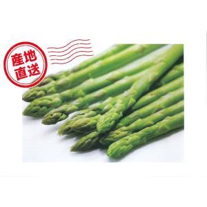C-2 下川町産:アグリトライビジネス直送品 グリーンアスパラ Lサイズ・約1kg入・1箱|saijo