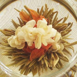 工芸茶 百合天女5個 お茶 花茶 中国茶 緑茶 ゆり 百合 茶葉