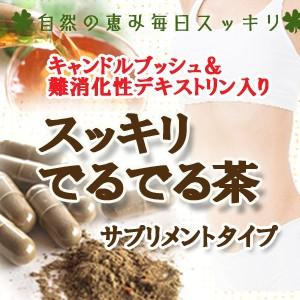 スッキリでるでる茶サプリメント90粒|saika