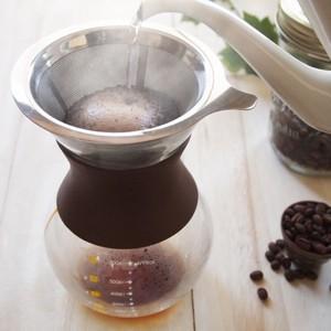 ステンレス製のドリッパー付で、コーヒーの旨みを逃さず抽出する事が出来ます。<サーバー>最...