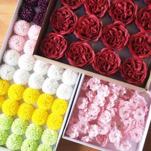 ソープフラワー ヘッド プレミアム 造花 ブーケ バスケット  花束 アレンジメント花材 装飾|saika