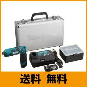 マキタ 充電式ペンインパクトドライバ 青 バッテリー×2・充電器付 TD022DSHX|saikuron-com