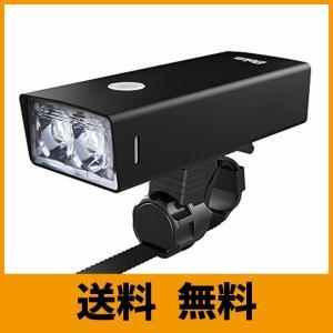 Elekin 自転車ライト 1800ルーメン USB充電式 5200mAh長時間連続点灯 ロードバイクライト LEDヘッドライト 4モード IPX5防 saikuron-com