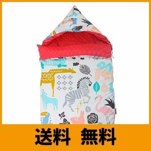 【肩パッド&翼デザイン】このベビー寝袋は翼デザインで、赤ちゃんが驚きジャンプの防止に役立ち、肩パッド...
