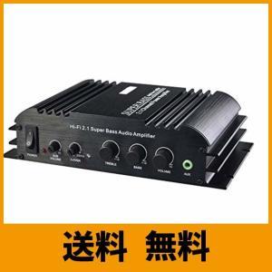 Eaglerich新しいファッション12VのHi-Fiミニデジタルカーアンプ・パワーの高品質のサブウーファーの販売製品2X40W + 1X68W|saikuron-com