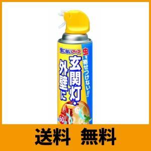 虫こないアース 虫よけスプレー [玄関灯・外壁に 450mL]|saikuron-com