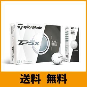 TAYLOR MADE(テーラーメイド) ゴルフボール TP5x TP5x ゴルフボール 5ピース構造 高弾道&低スピン 並行輸入品 (1ダース) saikuron-com