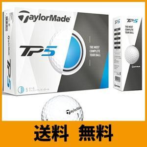 TAYLOR MADE(テーラーメイド) ゴルフボール TP5 2017年モデル 12個入り ホワイト B1346001 saikuron-com