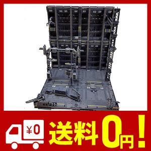 ◆セット内容:ディスプレイ用格納庫一式 組み立て式(アーム、アーム用台座付き、1/100や1/144...