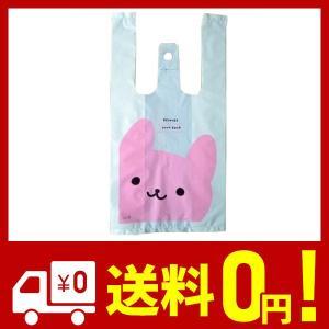 【MINAKIKO】かわいい レジ袋 ビニール袋 (うさぎ Sサイズ 100枚)|saikuron-com