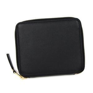 コムデギャルソン COMME des GARCONS 二つ折り財布 ブラック SA2100