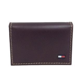 TOMMY HILFIGER トミーヒルフィガー カードケース 31TL20X021 200 ブラウン|sail-brand