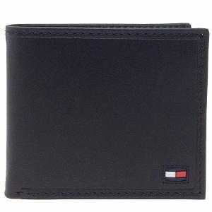 TOMMY HILFIGER トミーヒルフィガー 二つ折り財布 31TL25X014 001 ブラック|sail-brand
