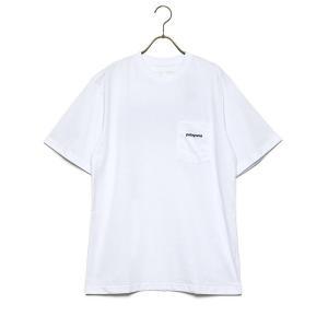 パタゴニア Tシャツ メンズ 半袖 PATAGONIA ロゴ ポケット レスポンシビリティー 391...