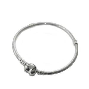 PANDORA パンドラ ブレスレット Moments Silver Bracelet with Heart Clasp 590719-17 sail-brand