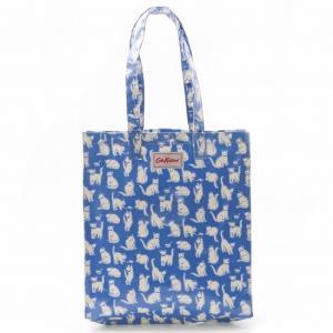 キャスキッドソン Cath Kidston トートバッグ BOOKBAG W' GUSSET OC ブルー 642606|sail-brand