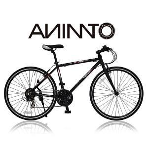 【ANIMATOアニマート】 クロスバイク METRO(メトロ) シマノ21段変速 700C 軽量アルミフレーム|sailaijidanxia
