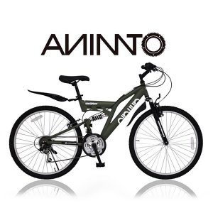 【ANIMATOアニマート】 マウンテンバイク SANDPIPER Wサス 26インチ SHIMANO18段変速|sailaijidanxia|04